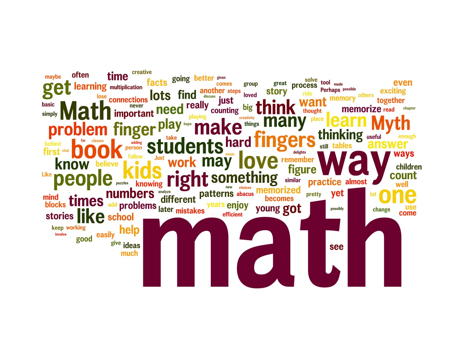 Creative Book Cover Quotes : Math أبريل