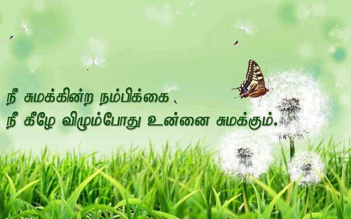 Tamil inspirational Quotes lines