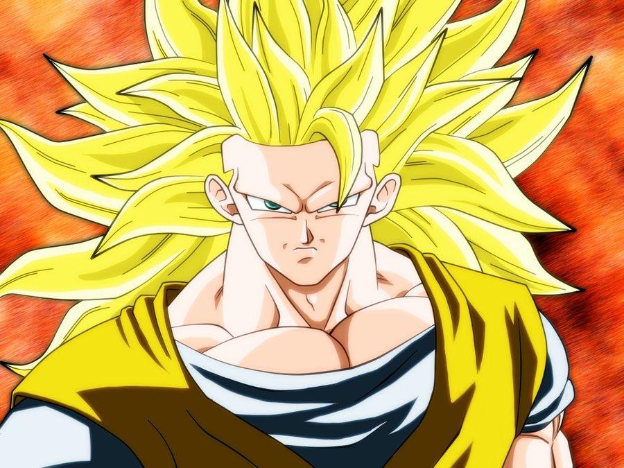 DRAGON BALL Z WALLPAPERS: Goku super saiyan 3