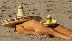 LATEST BEACH GEAR! Shrink to fit sombreros