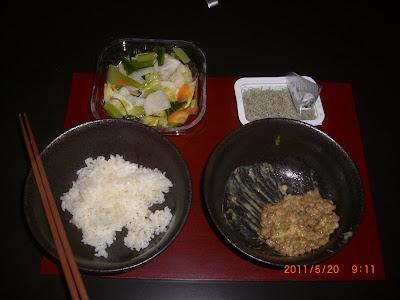 那須 別荘にひとり 食事