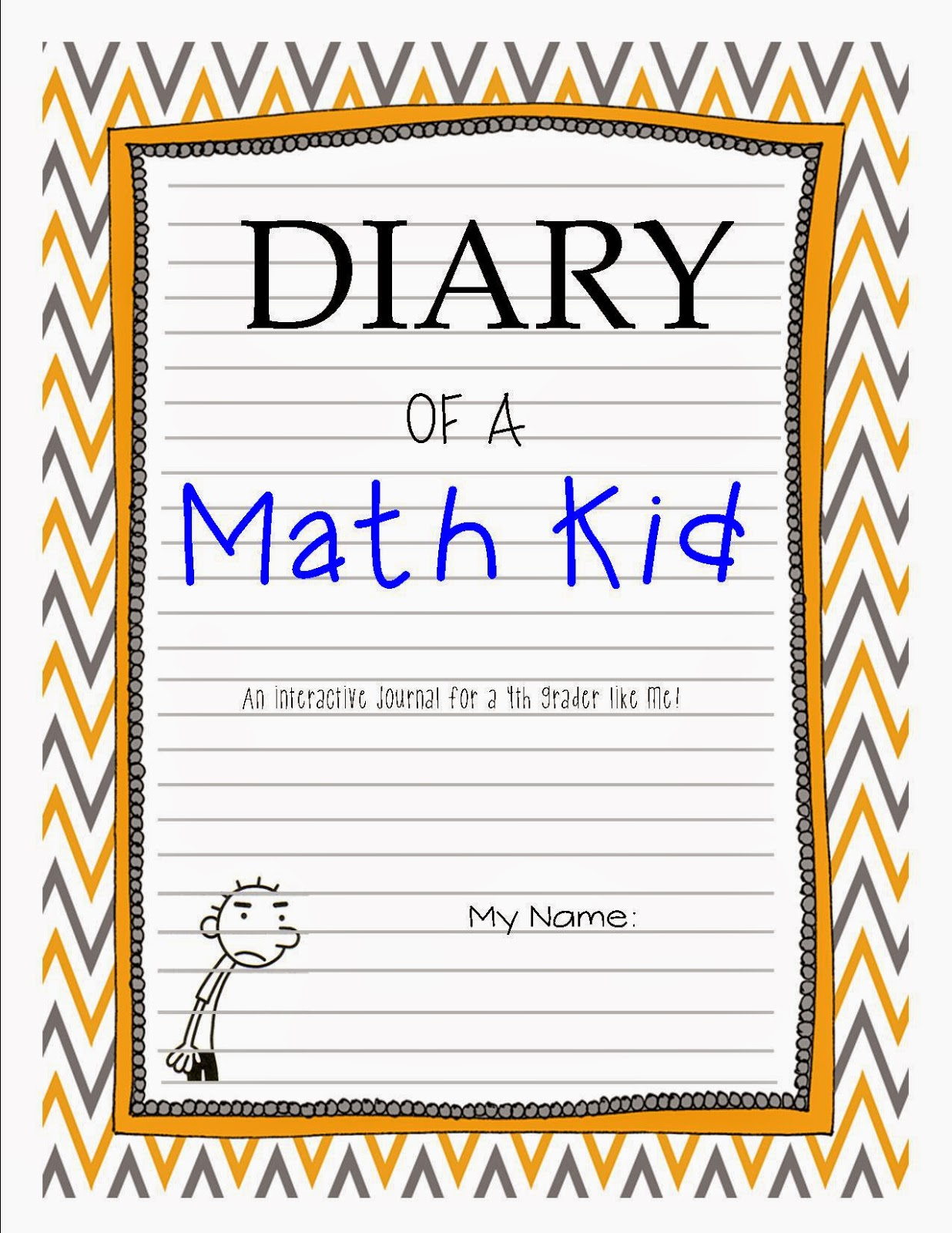 Maths Book Cover Printable : Once upon a creative classroom friday flash freebie and