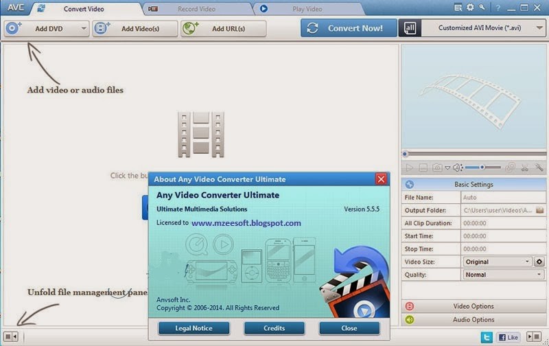 Any Video Converter 5.5.5 with Keygen