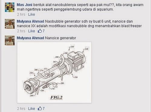 Nano Ice Generator