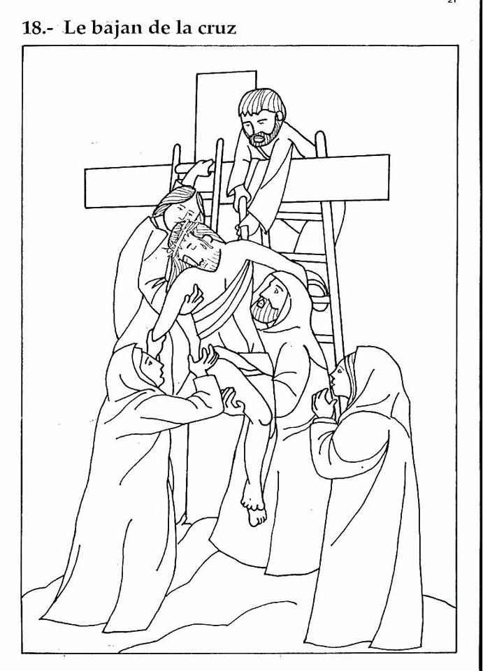 Compartiendo por amor: Jesús es sepultado