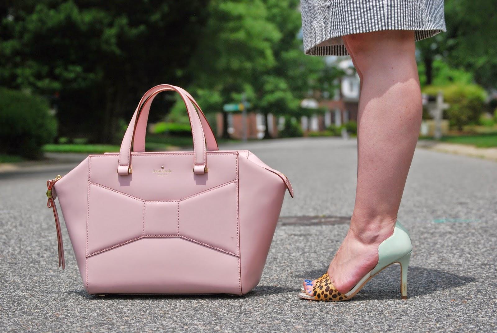 Kate Spade Beau Bag, Loeffler Randall, leopard shoes, pineapple print