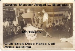 Club Stick Doce Pares Arnis Eskrima Cali