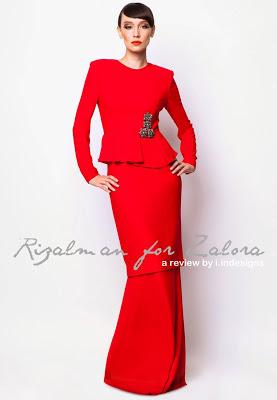 koleksi design baju raya rizalman di zalora