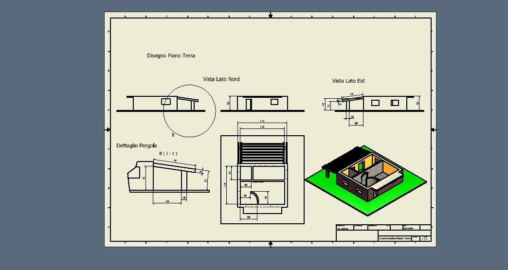Progettazione e disegno progetto domotica 3 f ot - Progetto casa domotica ...