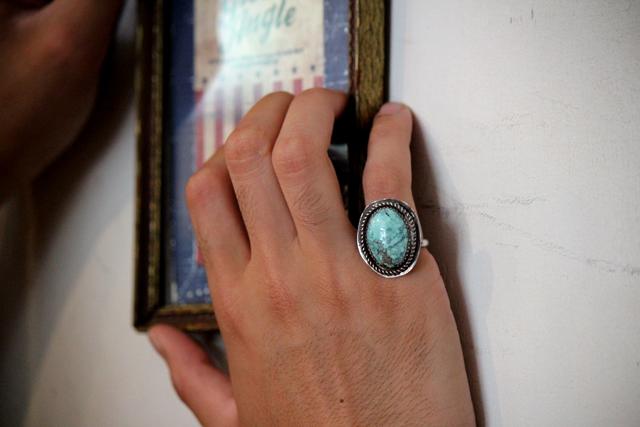 indianjewelry navajo turquoise accessories vintage インディアンジュエリーナバホターコイズgreenangle