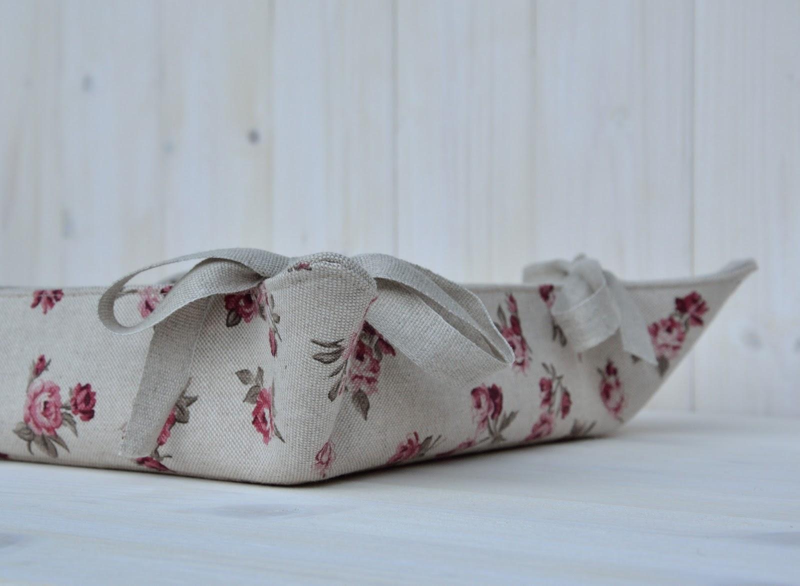 La soffitta dei ghiri cestino portapane o svuotatasche fai da te - Porta per soffitta ...