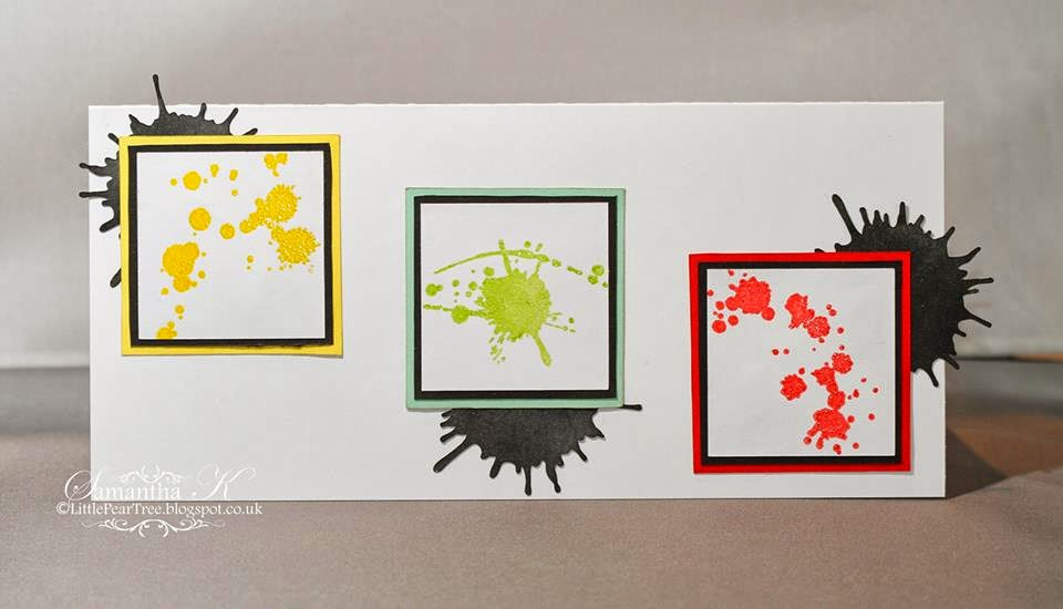 ink splats stamps
