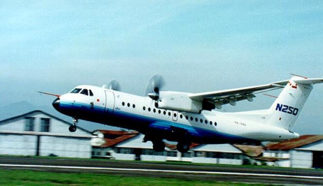 pesawat n 250 buatan habibie akan dihidupkan kembali