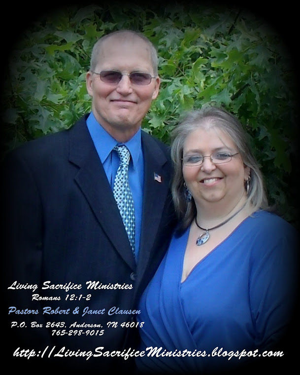 Pastor's Janet and Robert Clausen