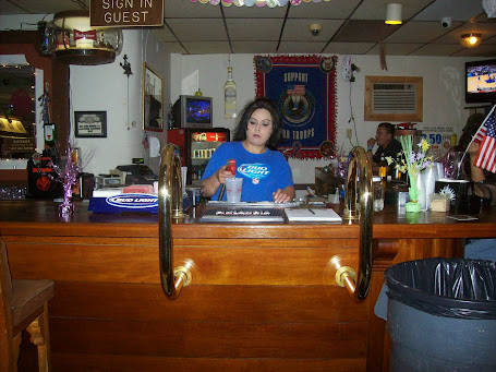 Angie our Bartender