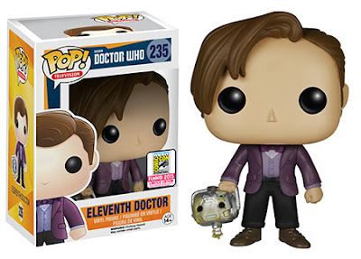 San Diego Comic-Con 2015 Exclusive Doctor Who Eleventh Doctor with Cyberman Head Pop! Vinyl Figure by Funko