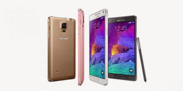 Spesifikasi Lengkap Galaxy Note 4 dan Note Edge