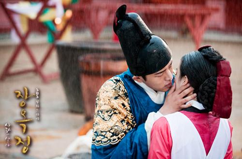 Yêu thương mãnh liệt như vị vua của ''Jang Ok Jung'' 1