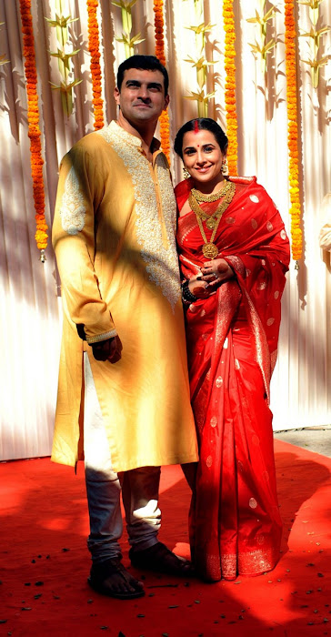 vidyabalan marriage unseen pics