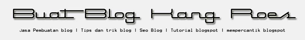 Jasa pembuatan blog murah | cara membuat blogspot