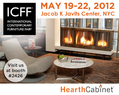 Hearth Cabinet Ventless Fireplaces Approved Ventless Fireplaces At Icff 2012