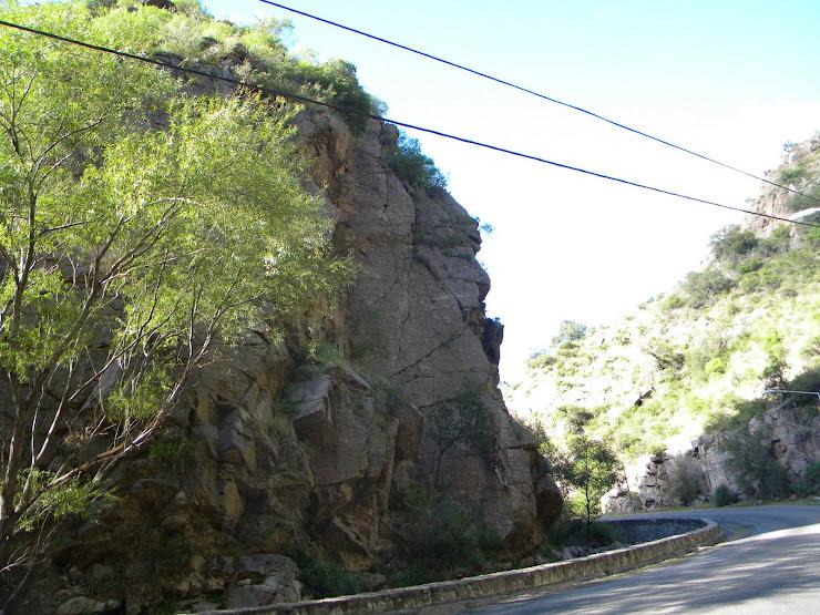 Quebrada de Los cóndores