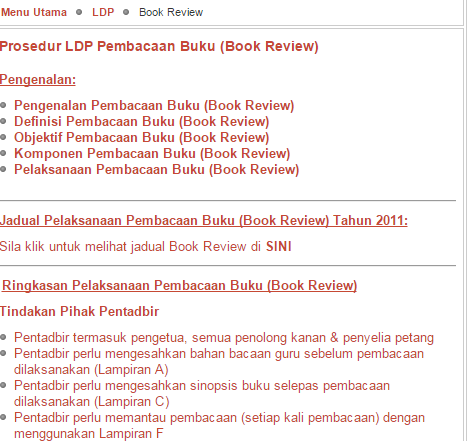Rujukan LDP Sinopsis Buku
