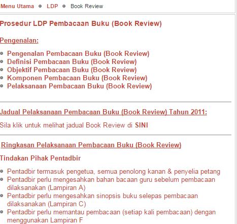 Rujukan LDP Sinopsis Buku