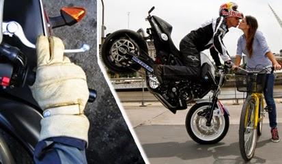 Mengerem Sepeda Motor