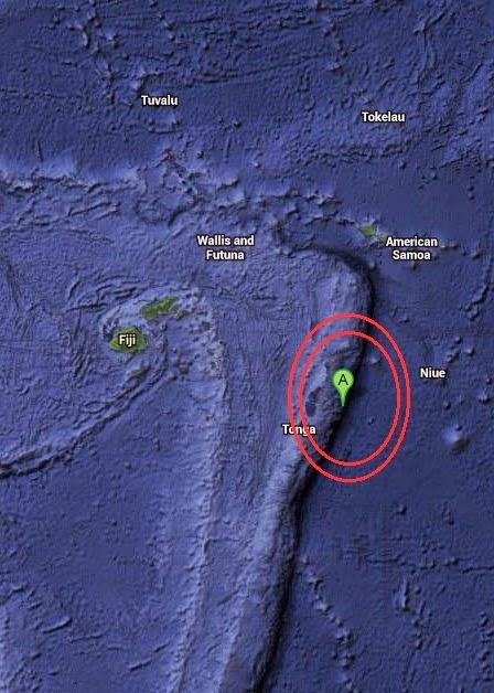 Magnitude 4.8 Earthquake of Neiafu, Tonga 2014-09-06