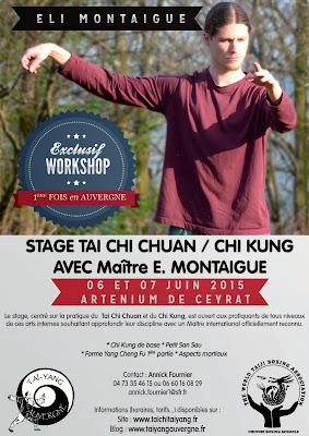 Stage Tai Chi chuan et Chi Kung avec la participation exceptionnelle d'Eli Montaigue