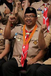 ketua kwarcab kab. sukabumi