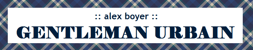 Alex Boyer: Gentleman Urbain