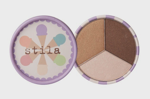 Stila Ice Cream Collection Eye Shadow Trio Mocha Chip
