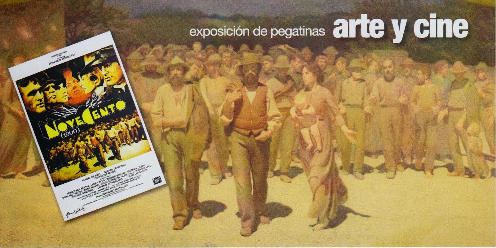 EXPOSICION DE PEGATINAS ARTE Y CINE: NOVECENTO
