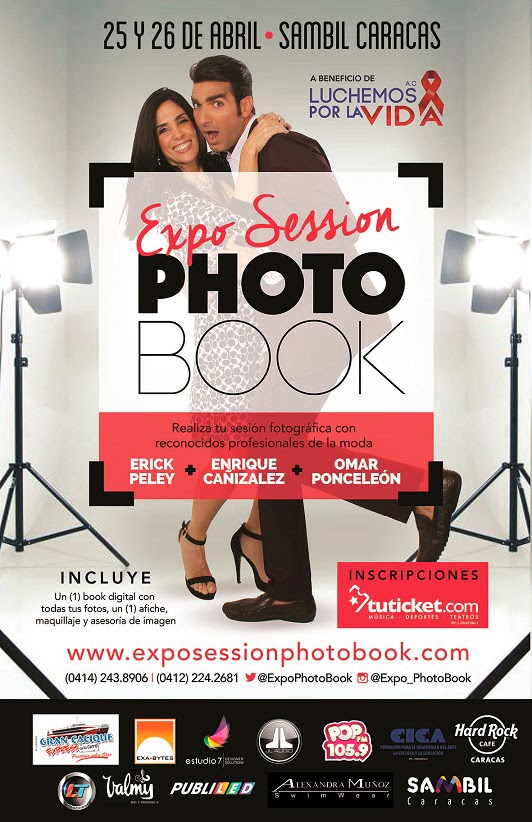 expo sessions photo book sambil caracas casting modelos venezolanos