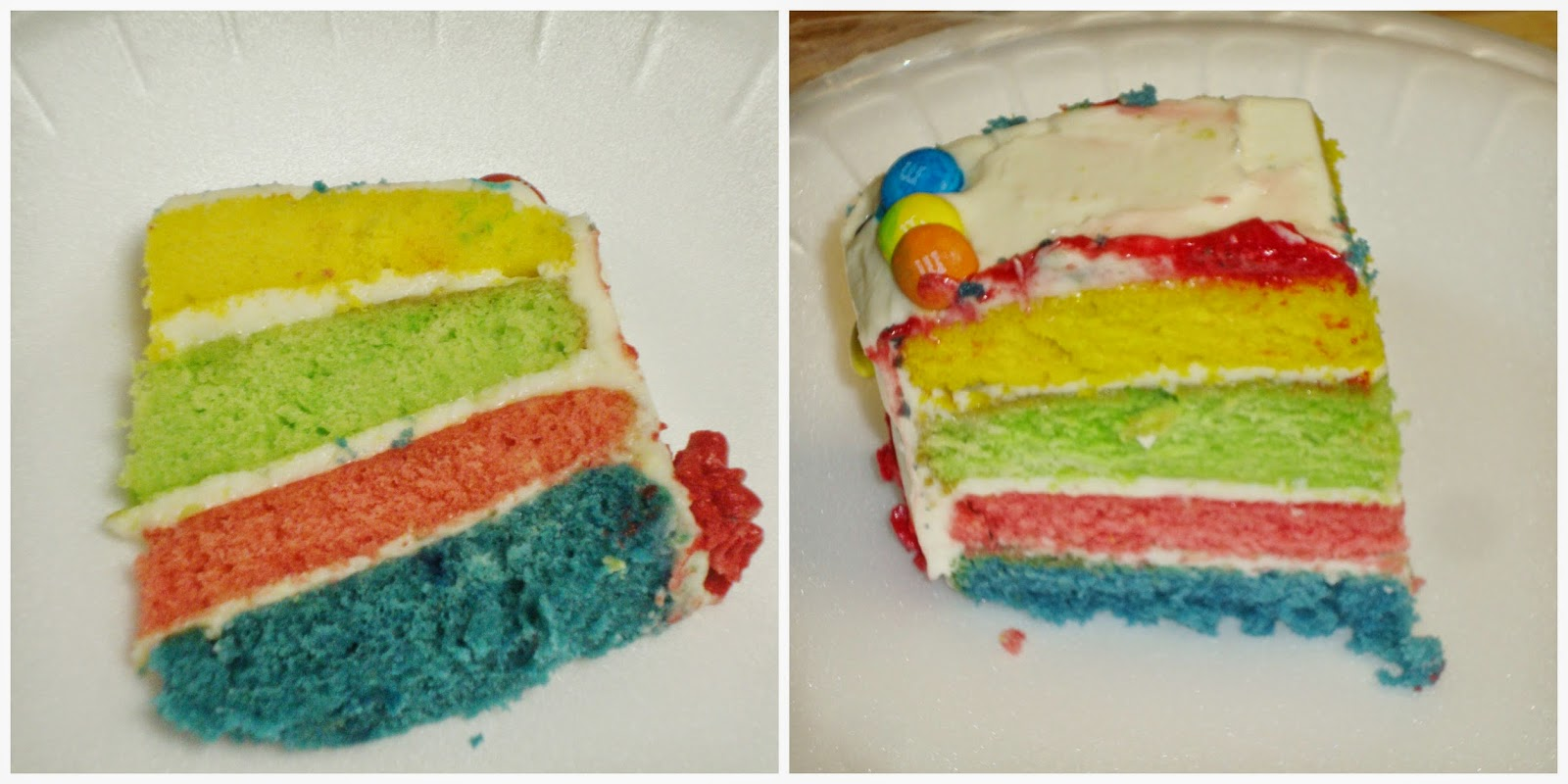 how to make a 4 layer rainbow cake
