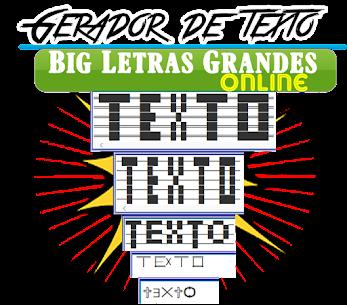 Gerador Letras Ascii Grandes