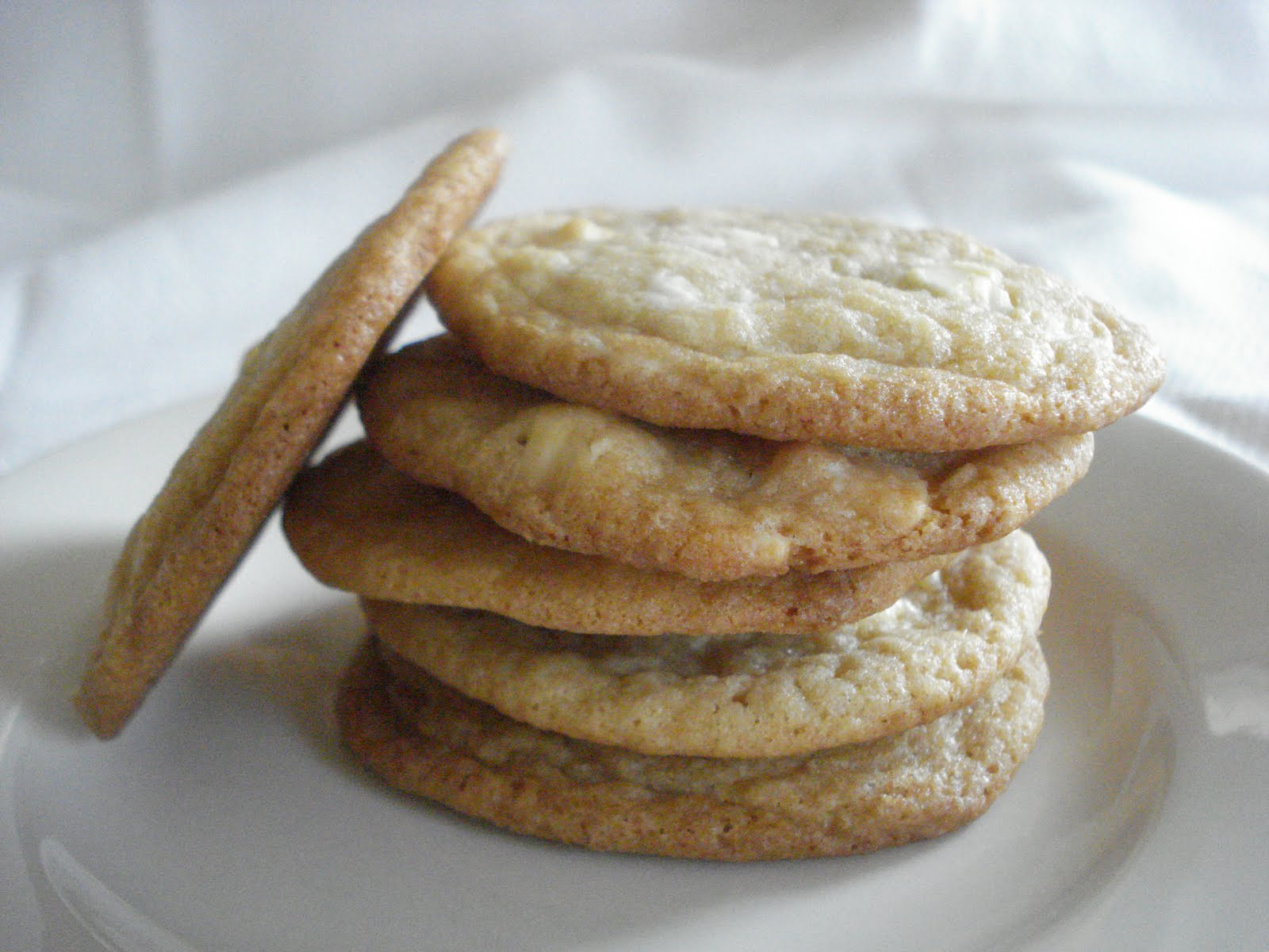 The Cookie Scoop: Lemon White Chocolate Chunk Cookies