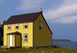 หลังคาแบบ Saltbox Roof