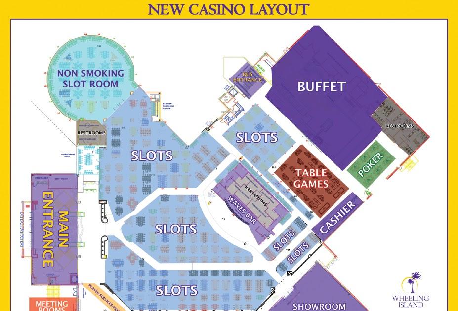 Wheeling Island Casino Map