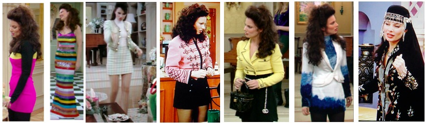 Fran Fine Outfits