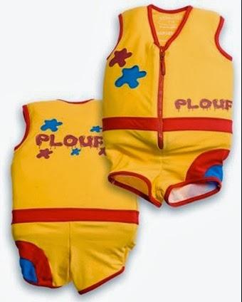 test pour vous le cobaye conso test plouf le maillot de bain flottant pour les enfants. Black Bedroom Furniture Sets. Home Design Ideas