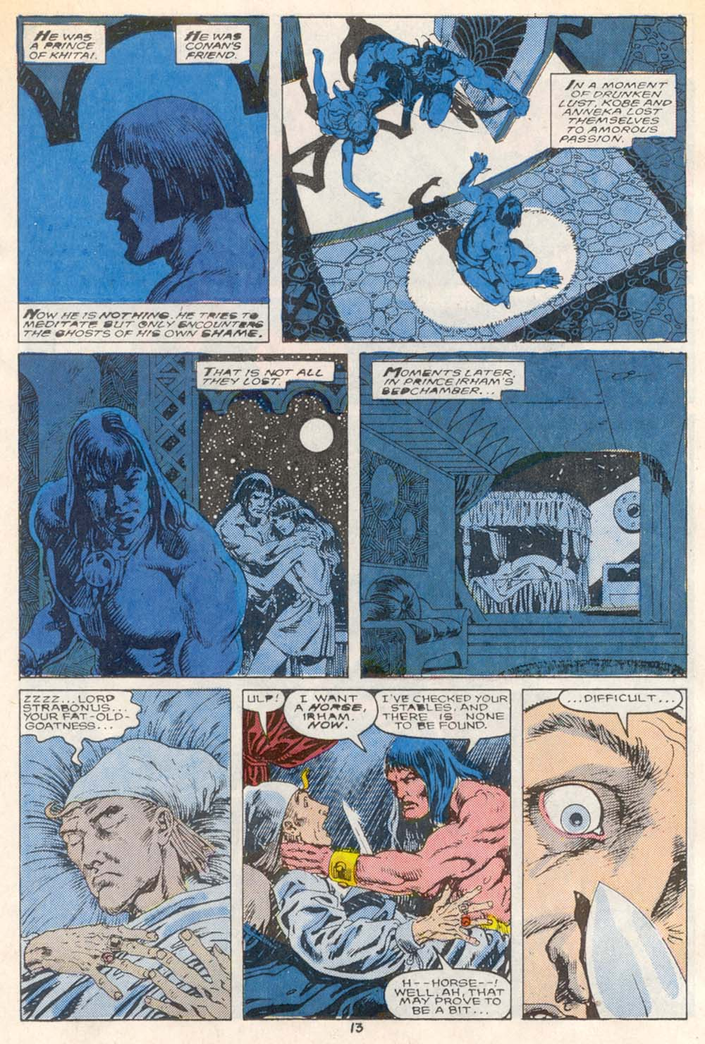 Conan the Barbarian (1970) Issue #209 #221 - English 11