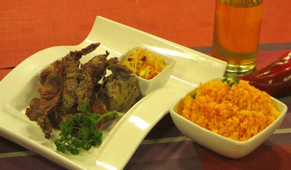 Cara Beef Tapa with Atchara and Java Rice Recipe