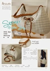 END ~ WorkShop : Summer Hobo Bag 08/03