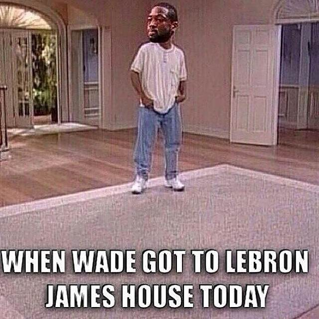 bad luck dwyane wade no lebron meme return hoopsvilla