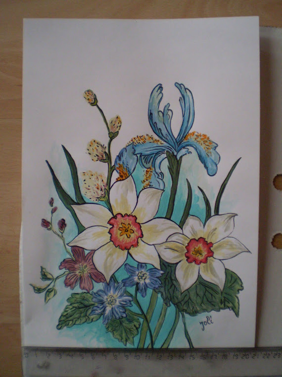 Spring 2011, watercolor, signed Joli, A4