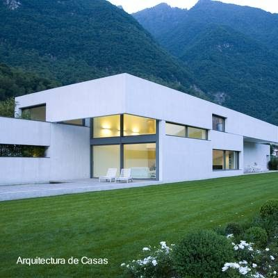 Arquitectura de casas la casa moderna - Arquitectura casas modernas ...
