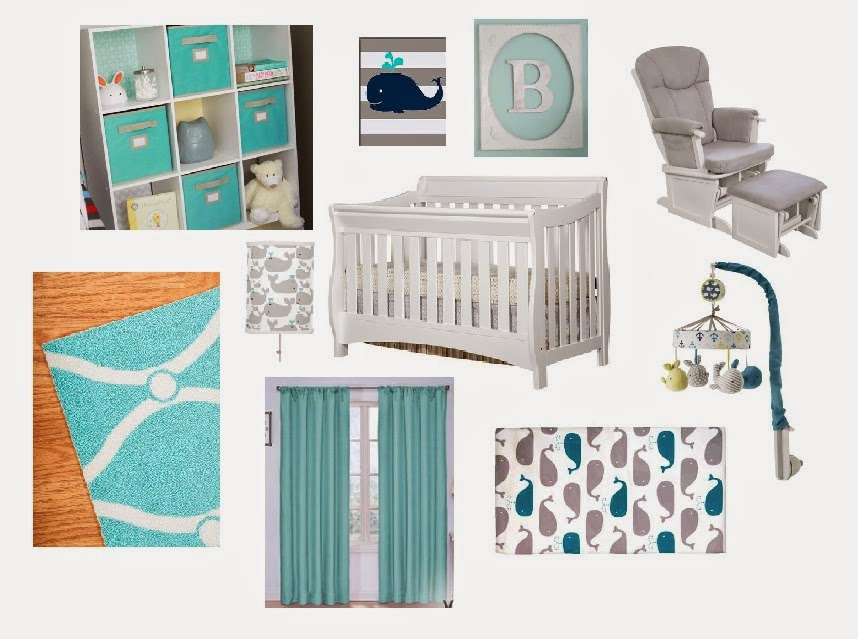 nursery, vision board, teal nursery, nursery ideas